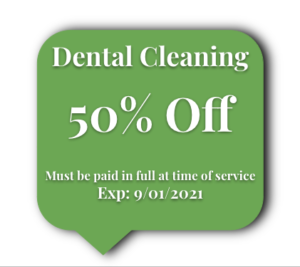 Dental Cleaning Coupon
